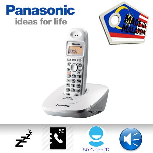 全新 Panasonic 國際牌 KX-TG3611 (星空銀) 2.4GHz無線電話 類KX-TGC210