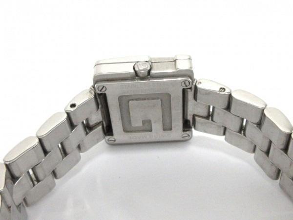 可使用~GUCCI 古馳~3600 L黑面盤金屬錶帶~是代標不是現貨~女用錶電池錶徑30X23mm錶帶長14.5cm~