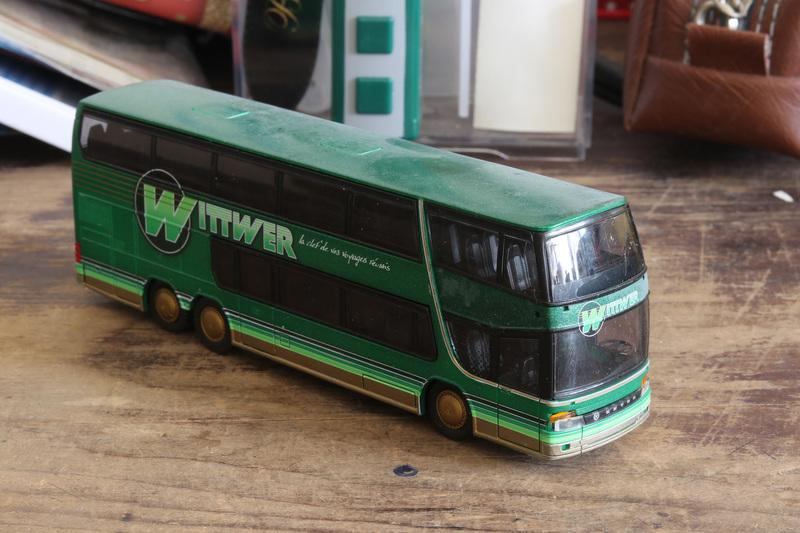 "HO 1/87 Rietze 60256 ""Setra S 328 DT Wittwer Travel"""