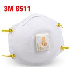 3M 8511防護口罩 N95等級 細微粉塵 新加坡製 頭戴式 (另有3M口罩 8577 9042)《JUN EASY》