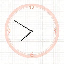 【鐘點站】 J100072 分針10公分 時針7.2公分/ DIY 時鐘 掛鐘 鐘針/ SKP壓針機芯 專用指針