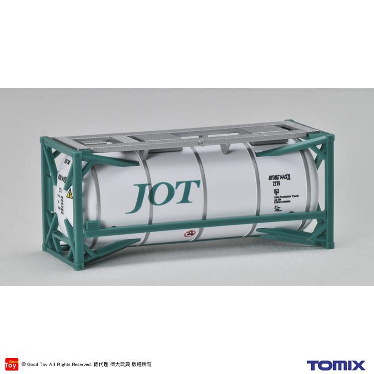 預購【Good Toy】TOMIX 3127 私有貨櫃 ISO20ft (日本石油輸送・綠色・2個入)