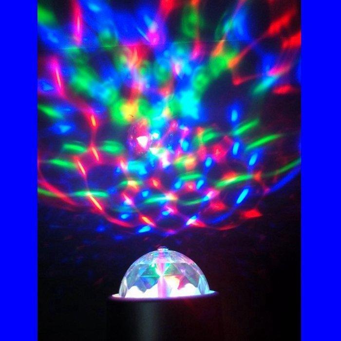 *潮流藝術 *LED燈 手電筒七彩旋轉魔球燈  Zoom 10  icelight 冷光棒附18650 電池