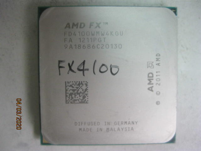*Do Re Mi PC* FX4100 CPU