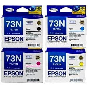 EPSON T105250 73N 原廠藍色墨水匣  無拆封庫存出清已過保鮮期/退換運費買家自付