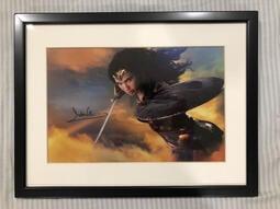 蓋兒 加朵 Gal Gadot 神力女超人 簽名照 COA認證 wonder woman