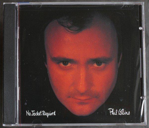 《菲爾柯林斯》勿須穿上衣(美國進口版) Phil Collins / No Jacket Required全新美版