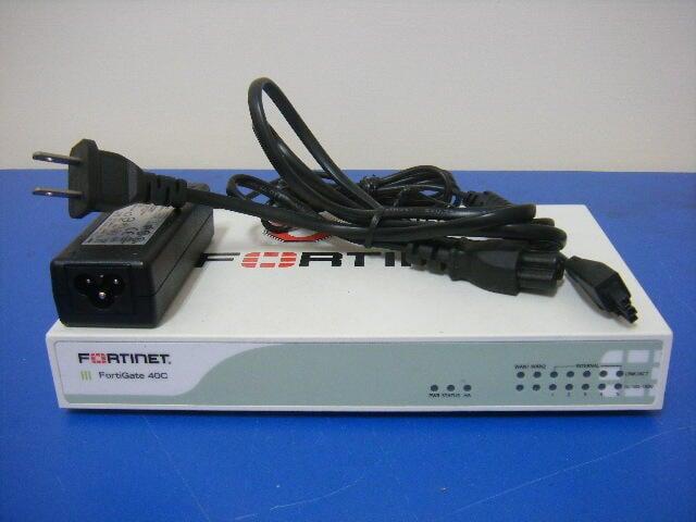 Fortinet Fortigate 40C Firewall 附原廠變壓器