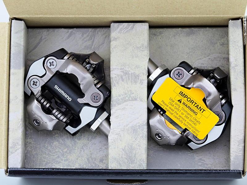 艾祁單車- Shimano XT PD-M8000登山車踏板卡踏有扣片SPD系統盒裝