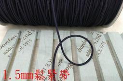 ~便宜地帶~AA2深藍色系1.5mm圓鬆緊帶1捲90尺賣100元出清~彈性好~適合做髮帶.口罩鬆緊帶(2700公分長)
