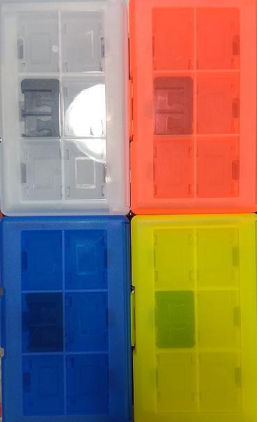 『亂賣館』★全新現貨★ 24合一 NS 卡匣收納盒 SWITCH 卡帶收納盒 24片裝 卡夾