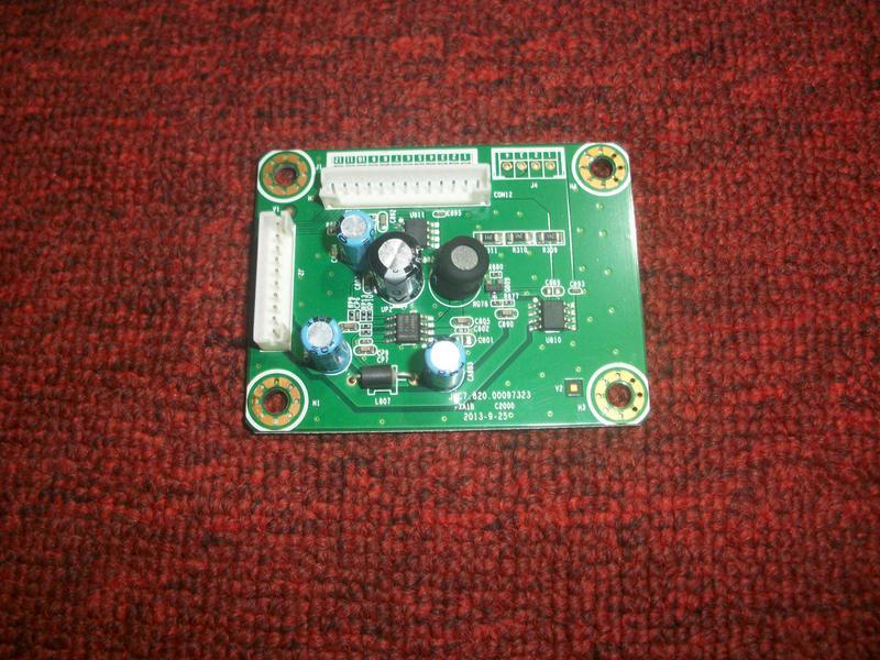 50吋LED液晶電視 副電源板 JUC7.820.00097323 ( HERAN  HD-50DF1 ) 拆機良品
