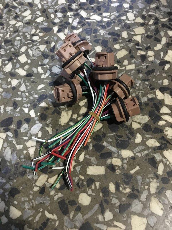 COROLLA 93-97 角燈線組 T20 燈泡插座 美規 改 日規燈組 100一對