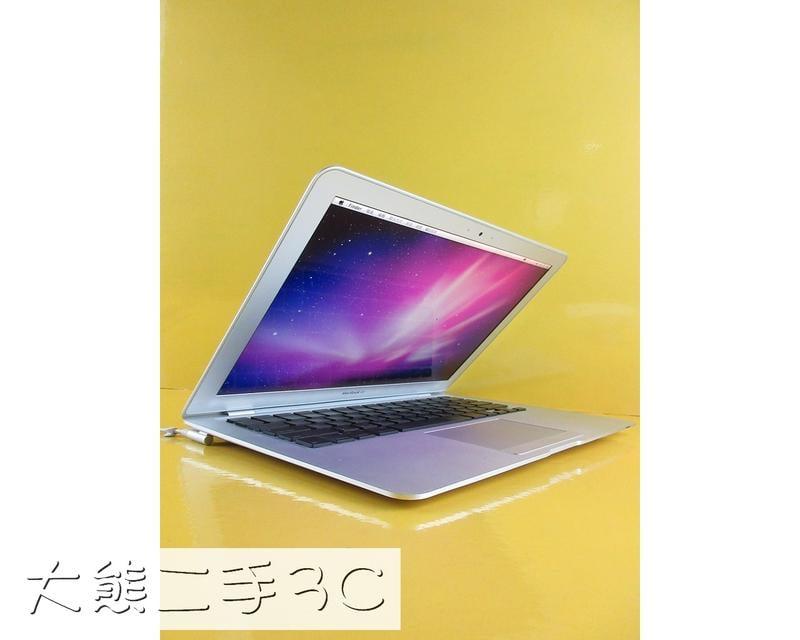 【全館滿千免運】【大熊二手3C】筆電零件機  MacBook Air A1237  一元起標[O]