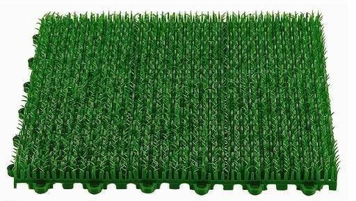 組合草皮拼接草皮DIY人造草 拼裝草門墊DIY組合塑膠草 假草 短草 人工草皮拼裝式止滑板防滑板排水板