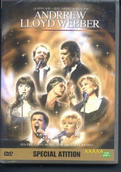 正版全新DVD~韋伯50歲生日音樂會Andrew Lloyd Webber歌劇魅影~英文字幕