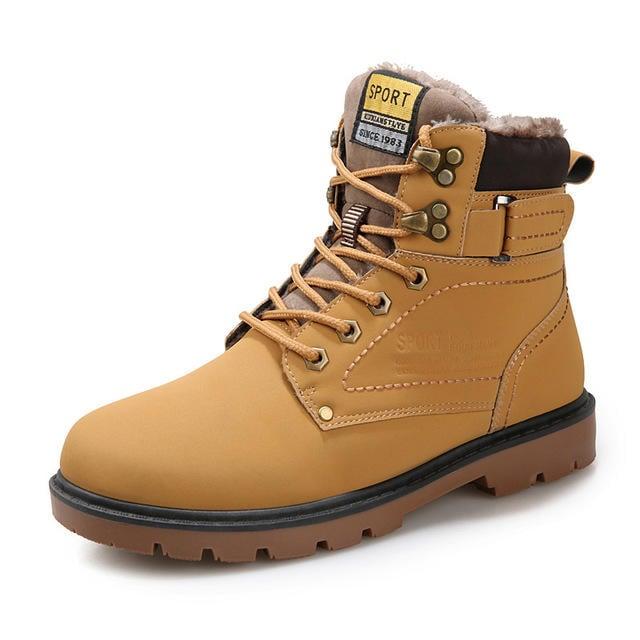 工廠送錯出清 男款 潮流復古百搭加絨款 休閒馬丁靴