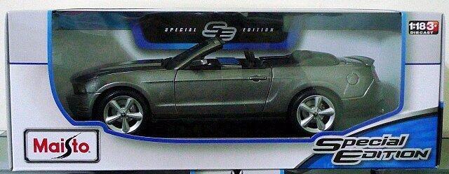 玩具部落*超跑 賽車 骨董車 模型車 1/18 2010 福特 Ford Mustang GT 特價791元起標就賣一