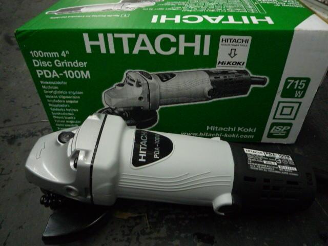 ~金光興修繕屋~HITACHI 電磨機 砂輪機 日立 扳動式開關 研磨機 切斷機 PDA-100M 非6-100