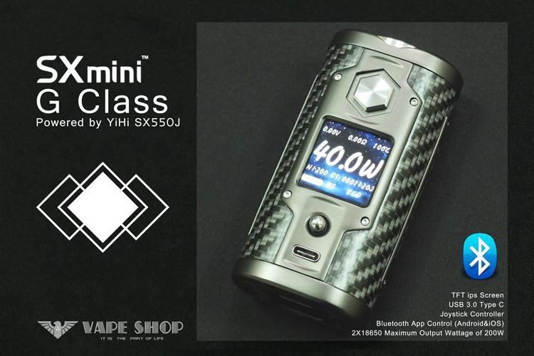 【 沃德維普】現貨 SX mini G class MOD 絕非電子 煙 煙油