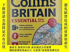 古文物Collins罕見2016 gollins britain Essential Road Atlas露天19139