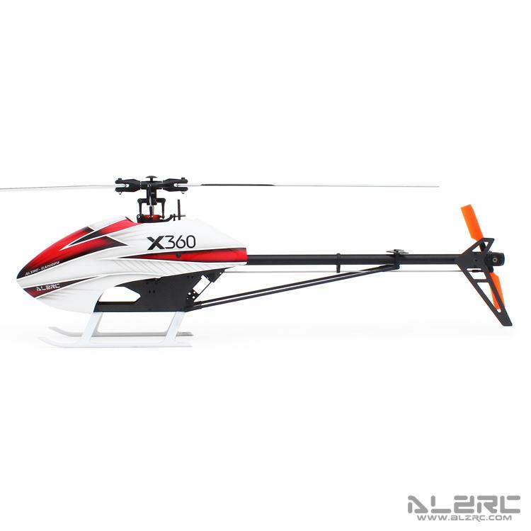 (嘉義遙控直昇機) ALZRC - Devil X360 FBL 直升機 空機版