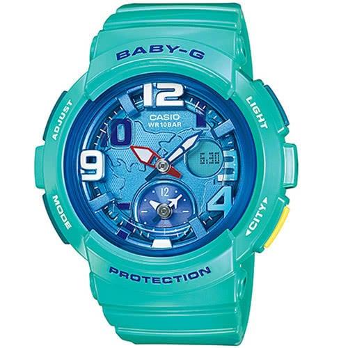 【CASIO】BABY-G雙時區旅行度假風時尚錶