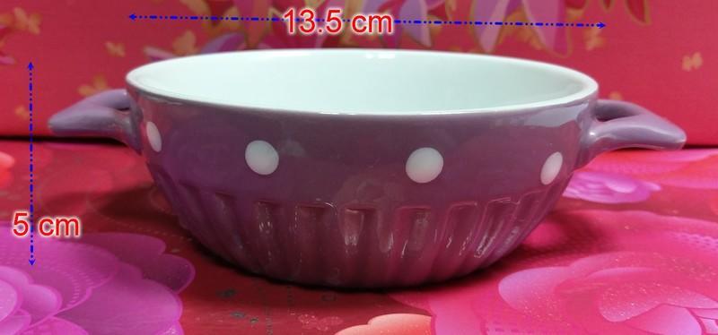 還不錯低♡♥~F74~ 【陶板屋】陶板屋Zakka風 『水玉點焗烤盤』♥♡~374g~