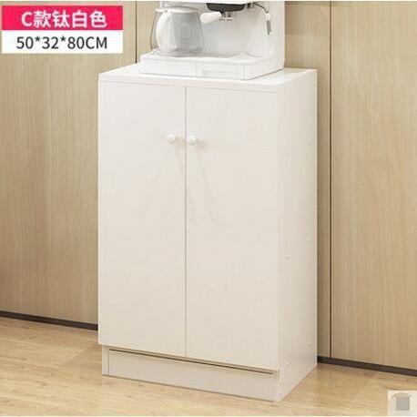 廚房置物架落地多層儲物收納架家用微波爐架子多功能小碗櫃5(C款)