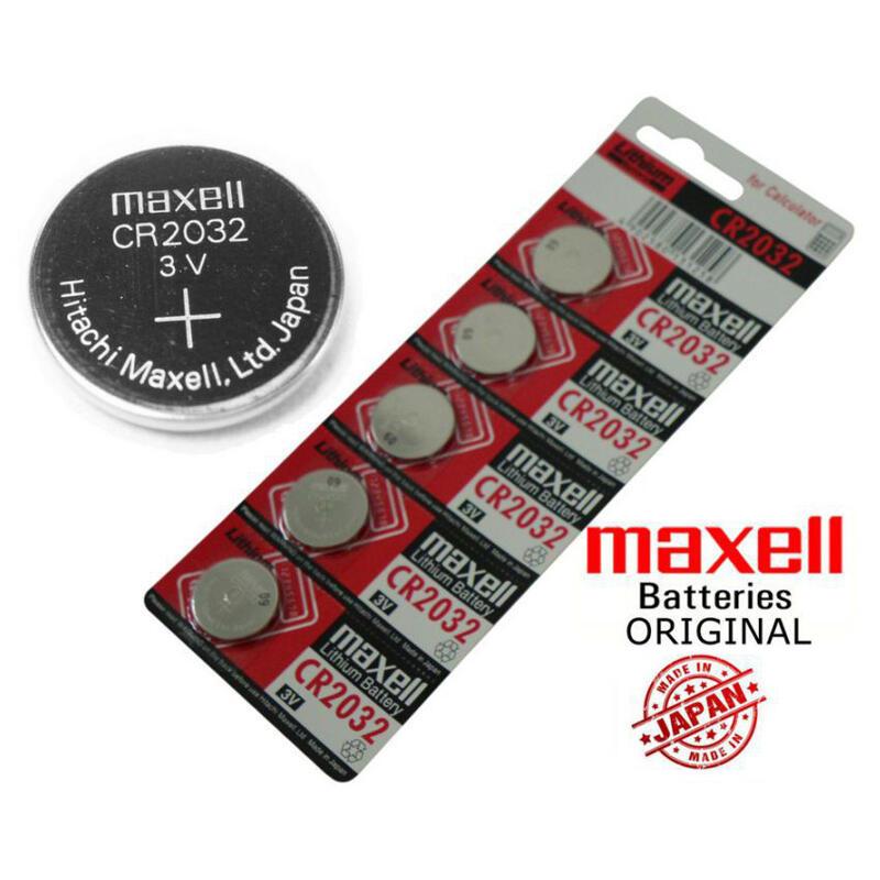 maxell 3V [日產] 鈕扣電池 🔋 全新 現貨 CR2032 Pokemon GO 寶可夢 計算機 水銀電池