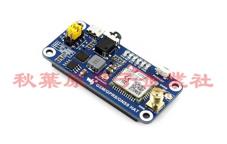 樹莓派 SIM868開發板 GSM+GPRS+GNSS+藍牙 電話/短信模組 For Raspberry Pi