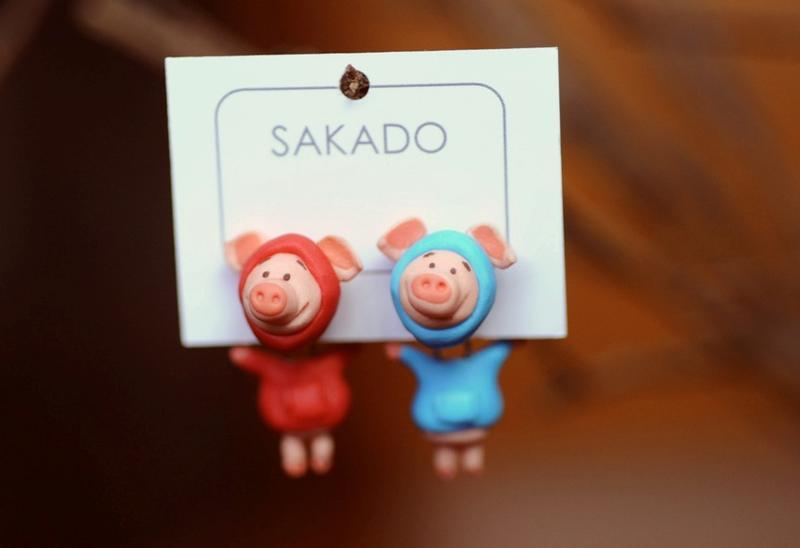 阪堂SAKADO--軟陶+純銀  來圖訂製