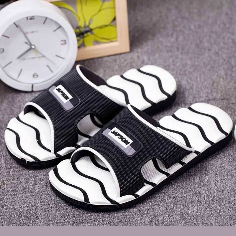 創意 韓版 夏季情侶拖鞋一字拖鞋男士外穿夏季沙灘涼拖鞋防滑休閑潮流韓版個性