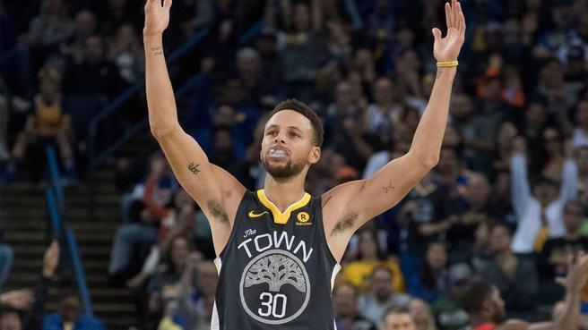 NBA Stephen Curry 2018 冠軍 球衣 Final Patch 棕櫚樹 Town 全新含吊牌 44 M