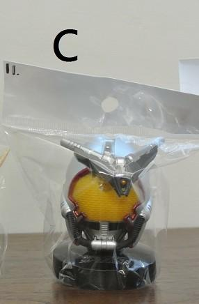 日版 BANDAI 假面騎士 1/6頭像 C款  Bandai 2011