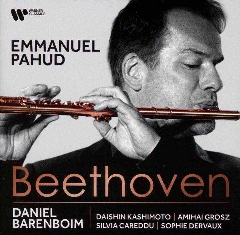 {古典} Daniel Barenboim & Emmanuel Pahud / Beethoven