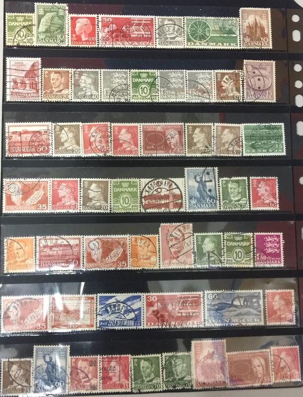 【AOG 隱世一方】丹麥  郵票一批****Book014