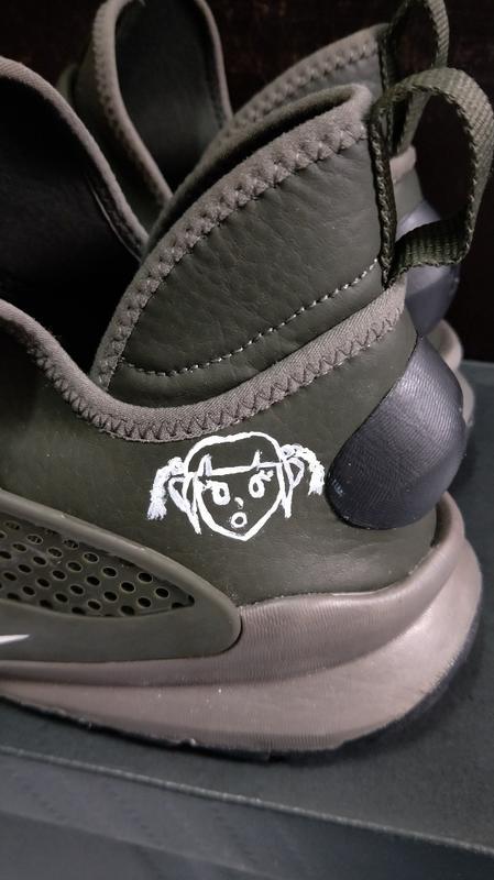 NIKE SOCK DART MID 藤元浩 經典 襪套 軍綠 深綠色 走路鞋 跑步鞋-us11