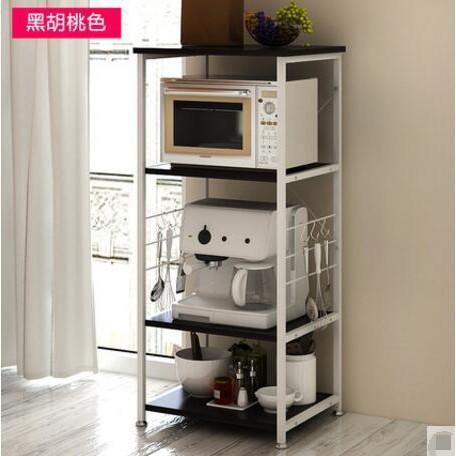 創意廚房儲物架收納架落地微波架廚房置物架微波爐架多功能10(D款)
