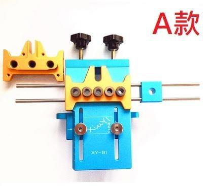 木工三合一 四合一 圓木榫打孔定位器傢具板式打孔器DIY 木工工具 多種規格可選購