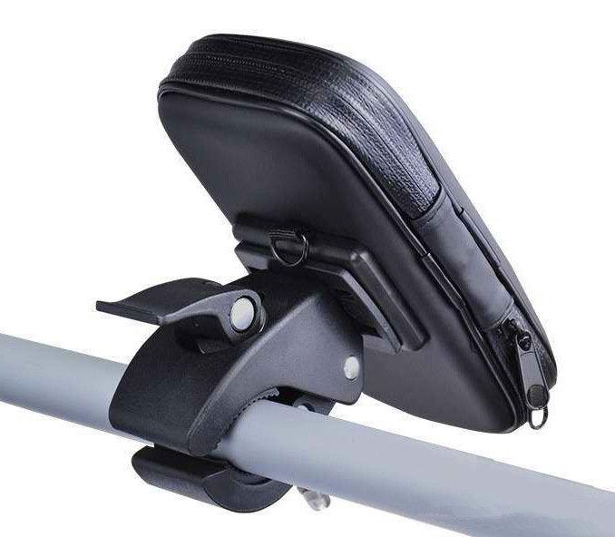 [小祐子的店] IPHONE 6+ PLUS 防水盒側翻皮套背殼保護套機車架、自行車架衛星導航支架