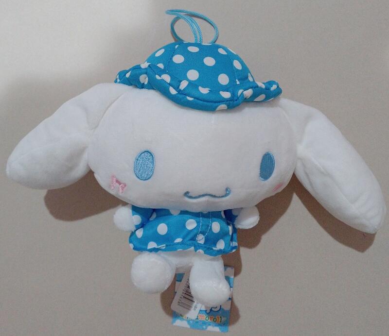 大耳狗 肉桂狗 喜拿 cinnamoroll 藍白圓點 娃娃 玩偶 玩具 公仔 SANRIO 三麗鷗