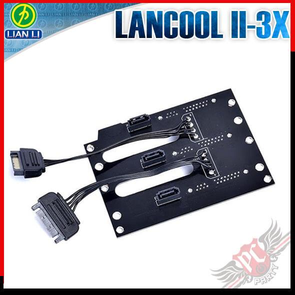 [ PCPARTY ]聯力 Lian LANCOOL II-3X 熱插拔背板