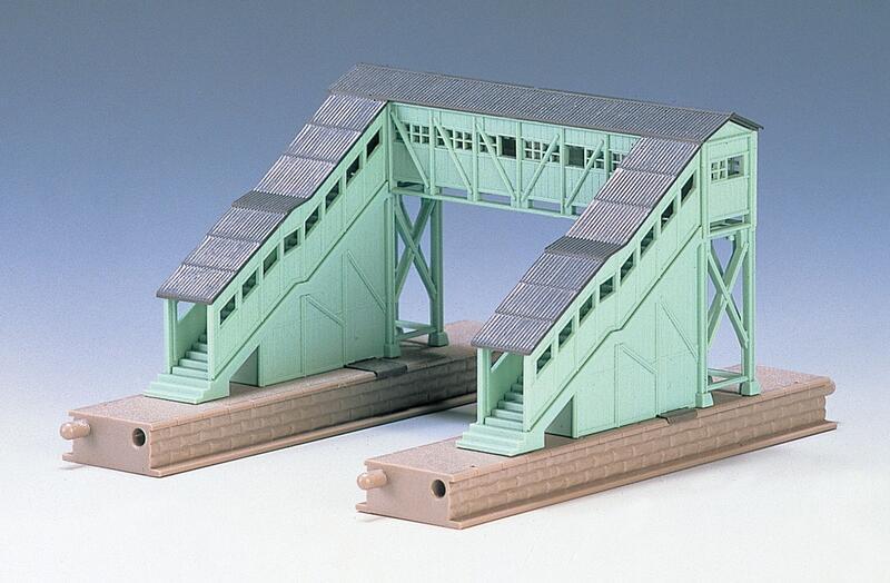 Tomix 1/150N規 4004 木造跨線橋 現貨