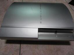 PS3遊戲主機銀色故障零件機型號CECHh07(無保固貼)(7)