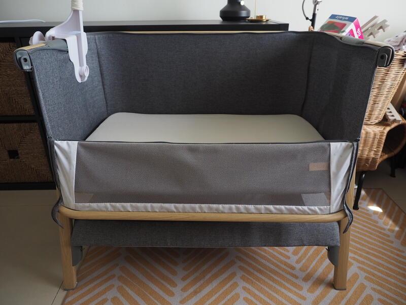 TUTTI Cozee 嬰兒床 / 床邊床 / 附音樂鈴及蚊帳