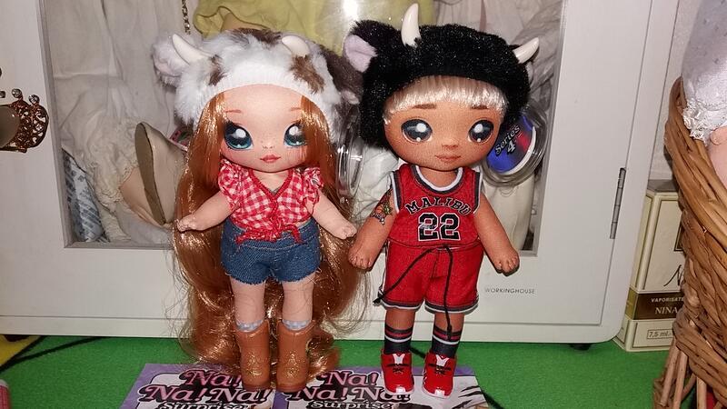 正版 nanana surprise 娜娜 驚喜娃娃 2款一起賣