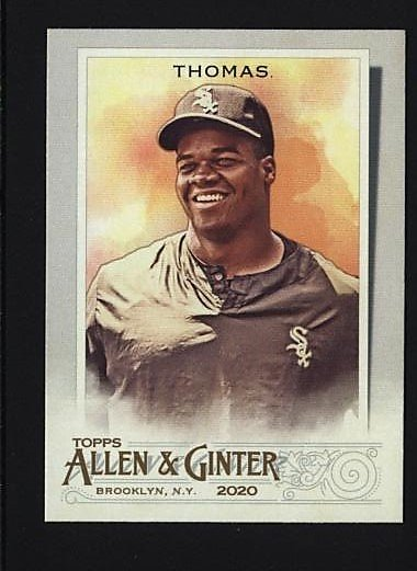 2020 Topps Allen and Ginter #96 Frank Thomas - Chicago White Sox