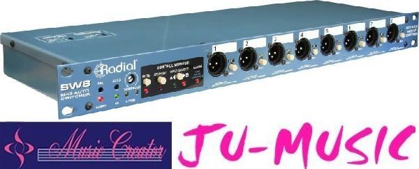 造韻樂器音響- JU-MUSIC - Radial SW8 Auto-Switcher DI 『公司貨,免運費』