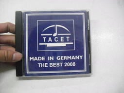 V.A. / TACET - The BEST 2008《MADE IN GERMANY》 合輯 / 2008 TACE